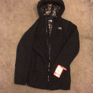 NEW The North Face Puffer Jacket Black Size Small